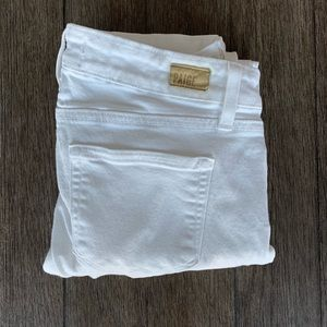 Paige | White Verdugo Ankle Jeans | 26